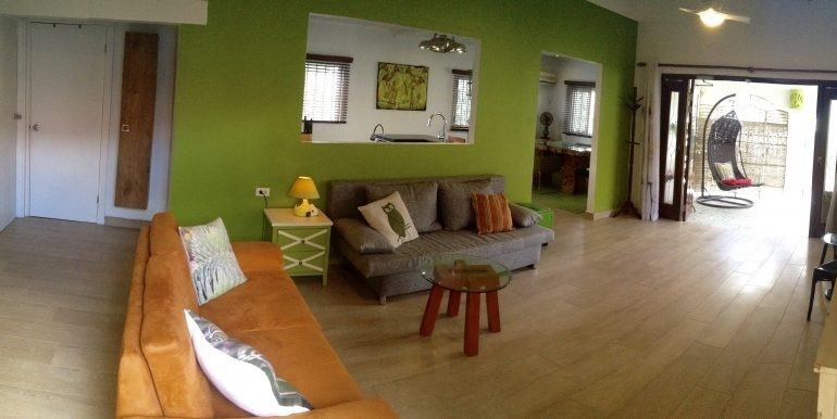 living room, looking outside