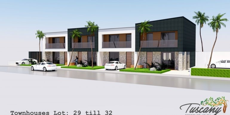 2018-01-12 front facade 1 Townhouse lot 29-32