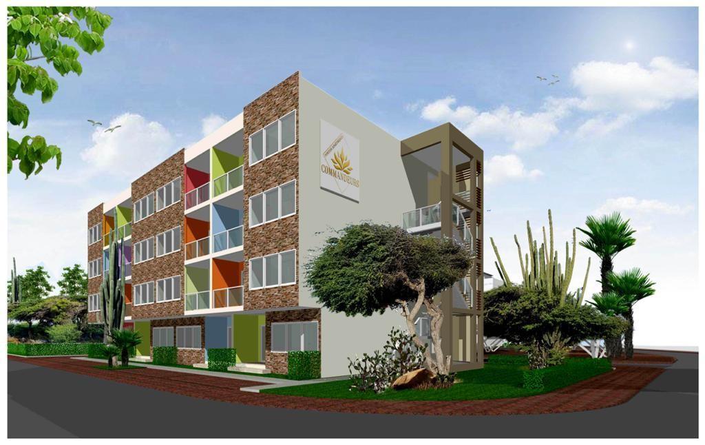 COMMANDEURS Ponton Apartments